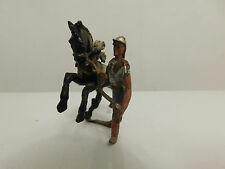 HEYDE ROMAN HORSE HANDLER TRAINER VINTAGE LEAD TOY SOLDIERS GERMANY