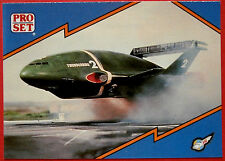 Thunderbirds PRO SET - Card #082 - Thunderbird 2 in Action - Pro Set Inc 1992