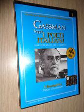 CD VITTORIO GASSMAN LEGGE I POETI ITALIANI DELL'OTTOCENTO E NOVECENTO ROMANTICI