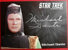 STAR Trek TOS 50th, Michael Dante come maab, edizione limitata carta di autografi