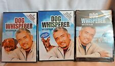 Lot of 3 Different Dog Whisperer DVD's with Cesar Millan DVD Dog Training