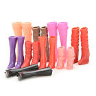 8 Pairs Mix Pairs High Heels Boots Shoes For Barbie Doll Designs Vary ABD