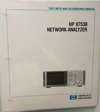 HP 8753B Network Analyzer Test Sets & Accessories Manual P/N 08753-90113