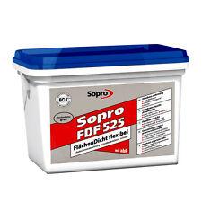 Sopro Flächendicht 5 KG FDF 525 Fliesen Abdichtung Flüssig+folie+kunststoff NEU