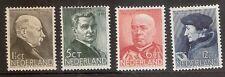 Nederland    Nummer  283/286   Ongebruikt.
