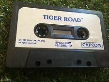 TIGER ROAD SINCLAIR ZX SPECTRUM 48K 128K +2 CASSETTE TAPE ONLY PC GAME By CAPCOM