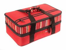 Rachael Ray Red Food Saver Bag Storage Container Expandable Lasagna Lugger Easy