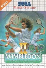 ## SEGA Master System - Wimbledon 2 - TOP / MS Spiel ##