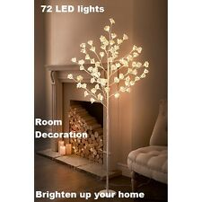 New 72 LED Large Rose Tree Brighten up your Home,Room Decoration Fast Delivery