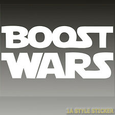 Boost Wars Sticker Adhesivo JDM VAG StickerBomb turbo Wars sticker Sta 634