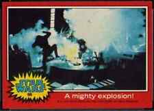 1977 Topps Star Wars Series 2 Red #86 A Mighty Explosion!   Death Star   Good