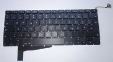 Original teclado apple macbook UNIBODY a1286 2008 mb470 mb471 Keyboard QWERTZ
