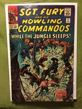 Sgt.Fury And His Howling Commandos #17 VG 1965 Stan Lee Dick Ayers