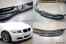 09-11 CARBON FIBER H type FRONT LIP SPLITTER for only BMW E90 LCI BASE MODEL