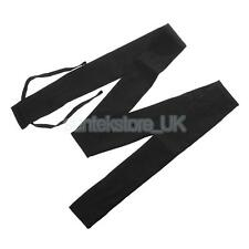 Black Breathable Cotton Cloth Fishing Rod Pole Cover Protector Sleeve Sock