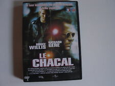 DVD LE CHACAL Bruce Willis & Richard Gere
