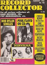 Record Collector Magazine No.150 Feb.1992 Bob Dylan, Pink Floyd, Nirvana Wrapped
