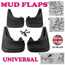 Front/Rear Rubber Moulded MUDFLAPS 4x Mud Flaps Universal Fit For TOYOTA PREVIA