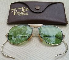 Vintage 1950's RAY-BAN Bausch&Lomb RB3 Mini Outdoorsman AVIATOR Sunglasses