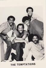 The Temptations- Orig. Promotional Photo- Music Memorabilia 1970's