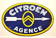 CITROEN  ADVERTISING SIGNBOARD in metal - METAL REKLAMESCHILD