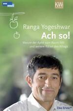 Buch 'Ach so! - Warum der Apfel vom ..'  v. Ranga Yogeshwar, TB, KiWi, sehr gut