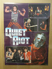 Vintage 1984 rock and roll QUIOT RIOT concert Poster 1041