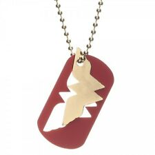 OFFICIAL DC COMICS WONDER WOMAN SYMBOL DOG TAG NECKLACE (BRAND NEW)