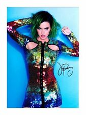 KATY PERRY AUTOGRAPHED SIGNED A4 PP POSTER PHOTO 1