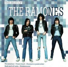 THE RAMONES - THE BEST OF THE RAMONES CD (18 SONGS) GREATEST HITS / US KULT-PUNK
