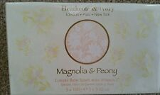 Heathcote & Ivory Magnolia and Peony Gift Soap in Box 3 x 100 g. OR 3x3.52 oz.