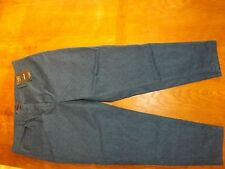 Ladies Blue MIx Superslim Stretch Cotton Jeans Size 16 Short (£29.50) New