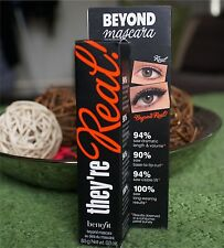 BENEFIT THEY RE REAL MASCARA FULL SIZE 8.5g Black Brand New Sale Reduce Price
