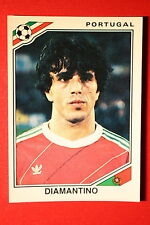 Panini STICKER MEXICO 86 397 PORTUGAL DIAMANTINO WITH BACK VERY GOOD/MINT!