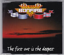 Bonfire-the first cut is the deepest 2 Track Maxi CD 1997