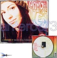 """SYRIA """"L'AMORE E' (NEED YOU TONIGHT)"""" RARO CDsingolo REMIX - INXS"""