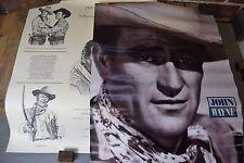 """Set of Two """"The Duke"""" John Wayne Posters """"In Memory of a Legend"""", Dan Brewer"""