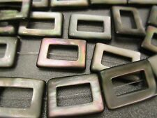 Mother Of Pearl Shells Rectangle Beads 10pcs