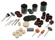 105 pc Rotary Polishing Tool Accessory Kit for Crafting and Hobby Fits Dremel