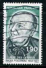 STAMP / TIMBRE FRANCE OBLITERE N° 2453 RAOUL FOLLEREAU