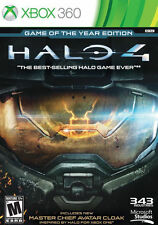 Halo 4 -- Game of the Year Edition (Microsoft Xbox 360, 2013) Video Game
