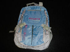 Mickey's Action Adventure Eco-Tech Girls BookBag Backpack Schoolbag Blue 17""