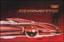NEW Original 1998 Corvette Owners Manual OEM Chevy Chevrolet Owner Guide Book