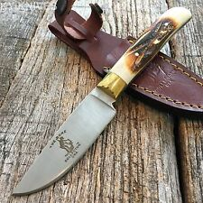 """7.5"""" BONE COLLECTOR FIXED BLADE SKINNING KNIFE Hunting Bowie BONE BC-790"""