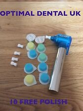 POWERFUL DENTAL TOOTH POLISHER WHITENING STAIN REMOVAL+ 10 FREE POTS  PRO POLISH