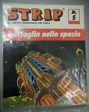 (PRL) BATTAGLIA SPAZIO AVVENTURA TRASFERELLO VINTAGE 1970 SPACE STOCK TOY STRIP