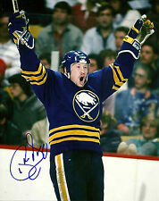 Phil Housley Hand Signed 8x10 Photo Buffalo Sabres NHL Autograph Signature