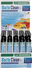 Dennerle Bacto Clean Bio Filter Bacterial Aquarium Starter 50ml Vial for 50-100L