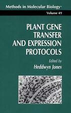 Plant Gene Transfer and Expression Protocols 49 by Heddwyn Jones (2013,...