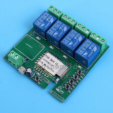 4-Channel Inching Self-Lock Interlock Wifi Relay Module For Cellphone Control 5V